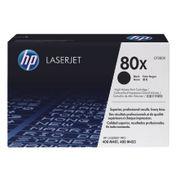 Image of HP 80X LaserJet Toner Cartridge Black High Yield   CF280X