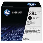 Image of HP 38A Black LaserJet Toner Cartridge | Q1338A