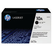 Image of HP 10A Black LaserJet Toner Cartridge | Q2610A