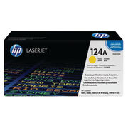 Image of HP 124A Yellow Laserjet Toner Cartridge | Q6002A