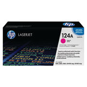 Image of HP 124A Magenta Laserjet Toner Cartridge | Q6003A