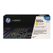Image of HP 502A Yellow LaserJet Toner Cartridge | Q6472A