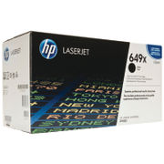 Image of HP 649X Black Laserjet Toner Cartridge High Yield | CE260X