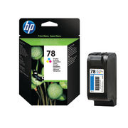 Image of HP 78 Tri Colour Inkjet Cartridge 19ml | C6578DE