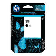 Image of HP 15 Black Inkjet Cartridge 25ml | C6615D