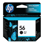 Image of HP 56 Black Inkjet Cartridge | C6656A