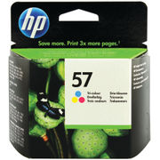 Image of HP 57 Tri Colour Inkjet Cartridge 17ml | C6657A
