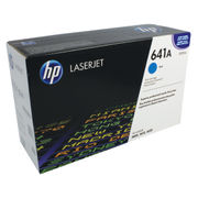 Image of HP 641A Cyan LaserJet Toner Cartridge | C9721A