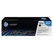 Image of HP 125A Black Laserjet Toner Cartridge | CB540A