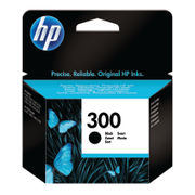Image of HP 300 Black Ink Cartridge | CC640EE