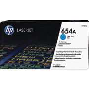 Image of HP 654A Cyan Laserjet Toner Cartridge | CF331A
