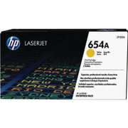Image of HP 654A Yellow Laserjet Toner Cartridge | CF332A