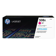 Image of HP 508X Magenta Laserjet Toner Cartridge High Capacity | CF363X