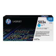 Image of HP 503A Cyan LaserJet Toner Cartridge | Q7581A