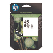Image of HP 45 Black Inkjet Cartridge 42ml High Capacity | 51645A