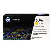Image of HP 507A Yellow LaserJet Toner Cartridge | CE402A