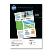 Image of HP A4 120gsm Professional Inkjet Paper Matt White 200 Sheets | HP Q6593A