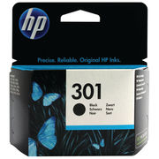 Image of HP 301 Black Ink Cartridge | CH561EE
