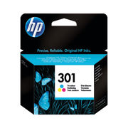 Image of HP 301 Tri Colour Ink Cartridge | CH562EE