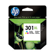 Image of HP 301XL High Capacity Tri-Colour Ink Cartridge | CH564EE