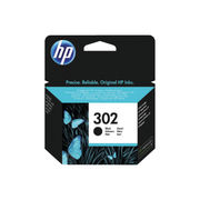 Image of HP 302 Black Ink Cartridge | F6U66AE