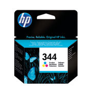 Image of HP 344 Tri Colour Inkjet Cartridge 14ml | C9363EE