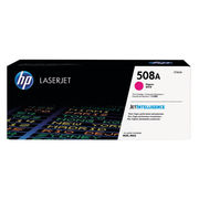 Image of HP 508A Magenta Laserjet Toner Cartridge | CF363A