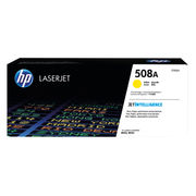 Image of HP 508A Yellow Laserjet Toner Cartridge | CF362A