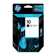 Image of HP 10 Inkjet Black Cartridge 69ml High Capacity | C4844A