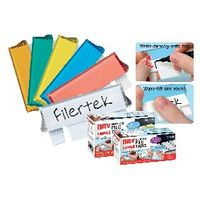 Cathedral Dry Erase Suspension File Tab - Pack of 50 - FPCLIPDRY50ASS