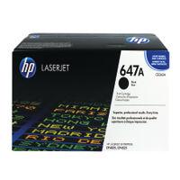 View more details about HP 647A Black Laserjet Toner Cartridge CE260A