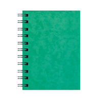 View more details about Silvine Luxpad Hardback Wirebound Notebook A6 (Pack of 12) SPA6