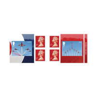 Red Arrows 1st Class Stamps (Postage Stamp Book) Pack of 6 - UB414