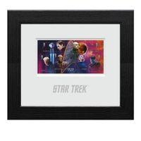 View more details about Star Trek Framed Miniature Sheet