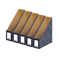 View more details about Bankers Box Decor Magazine File Grey (Pack of 5) 4483501