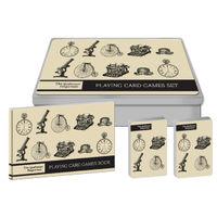 The Gentlemen's Emporium Playing Card Game Set - RFS9526