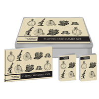 The Gentlemen's Emporium Playing Card Game Set - RFS9526