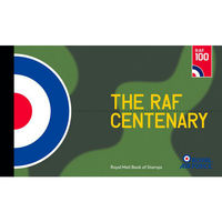 The RAF Centenary Prestige Stamp Book - YB076