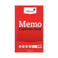 View more details about Silvine Carbon Memo Ruled Duplicate Book, 100 Pages (Pack of 6) - 601