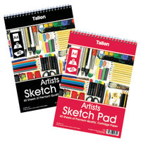 View more details about Tallon Artist Sketch Pad 40 Sheet A4 (Pack of 6) TAL05682