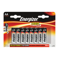 Energizer MAX AA Batteries - Pack of 12 - E300112600