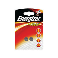Energizer A76 LR44 Button Battery, Pack of 2 - 623055