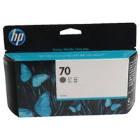 View more details about HP 70 Grey Standard Yield Ink Cartridge | C9450A