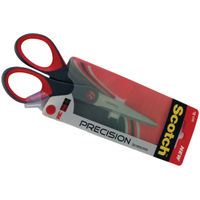 Scotch Grey/Red Precision Scissors 180mm - 1447