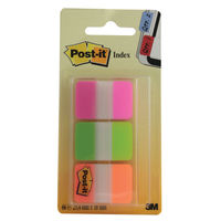 Post-it Strong Index Tabs, Pack of 66 - 686-PGOr