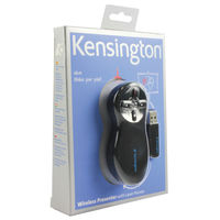 View more details about Kensington Wireless Presentation Remote with Laser - 33374EU