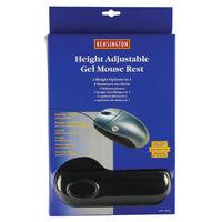Kensington Height Adjustable Gel Black Mouse Pad - 57711