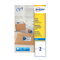 Avery QuickDry Inkjet Address Labels 199.6x143.5mm (Pack of 50) - J8168-25