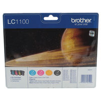 Brother LC-1100 Ink Cartridge Value Pack - LC1100VALBP