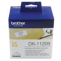Brother Small Address Labels, Pack of 800 - DK-11209